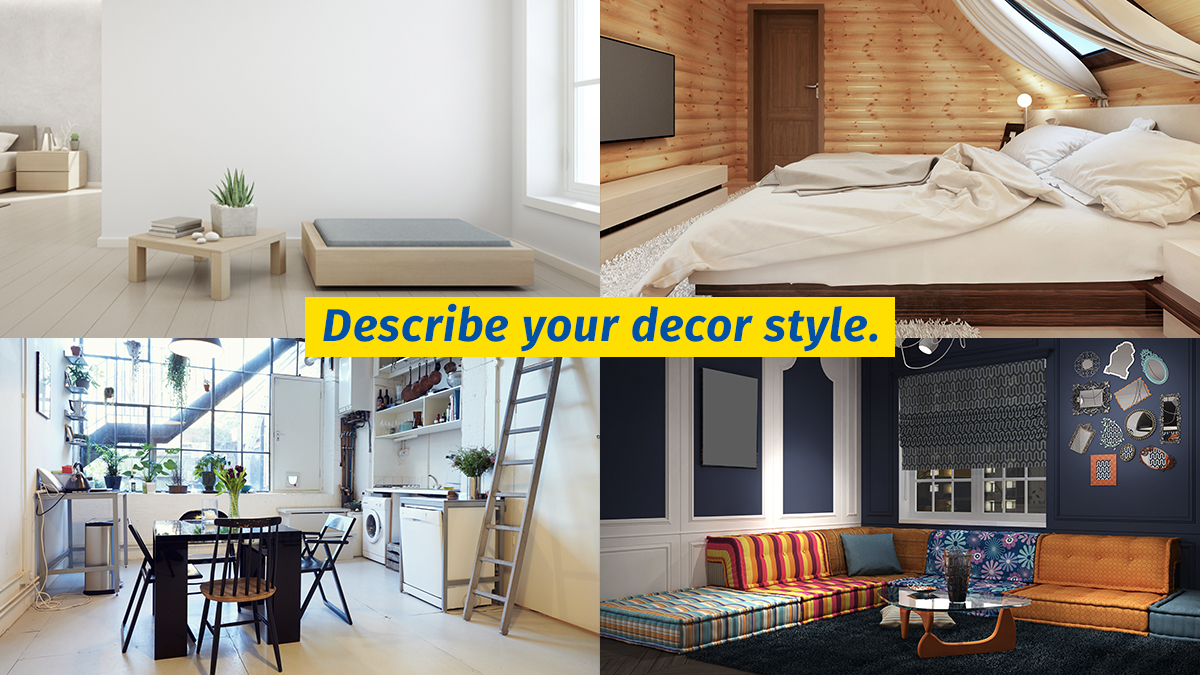 How would you describe your décor style?